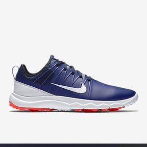 Nike Ladies Fi Impact 2 Golf Shoes Royal/White